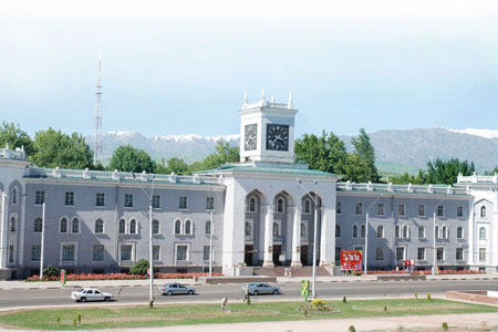 Dushanbe city